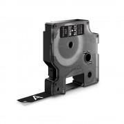 Etichete autocolante DYMO LabelManager D1 12mm x 7m alb negru 45021 S0720610