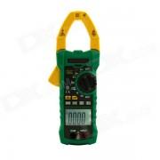 MASTECH MS2115A Medidor de la abrazadera de la CC y de la CC del RMS verdadero con la funcion del voltimetro del no-contacto (1 x 6F22)