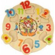 Jucarie educativa Big Jigs Clown Clock