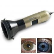 Iriscopio Dino-Lite: Permite criar facilmente imagens nítidas dos olhos e os íris