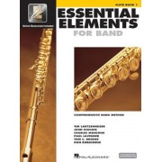 Essential Elements for Band - Flute Book 1 with Eei [With CDROM], Paperback