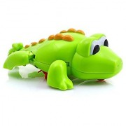 Mallya Swimming Crocodile Floating Bathtub Bath Toy for Kids Baby Bathing Tub Pool Toy