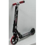 Gigant Wheel roller óriás 200x34mm kerekekkel - gyermek / felnőtt roller állítható oszlop, piros ker
