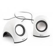 Mini Speaker per Notebook Bianco