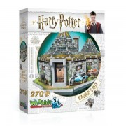 Wrebbit 3D Harry Potter Hagrid's Hut - 270 Pieces