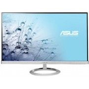"Monitor LED Asus 27"" MX279H, Full HD (1920 x 1080), D-SUB, DVI-D, 5 ms, B&O ICEpower, Low Blue Light (Argintiu) + BullGuard Internet Security, 1an, 3 utilizatori, Attach Card"