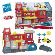 Transformers Rescue Bots Griffin Rock Firehouse Headquarters B5210