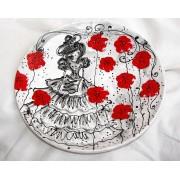 ceramica farfurie a- 003ab