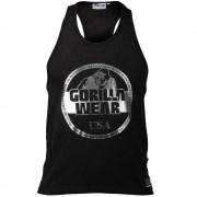Gorilla Wear Mill Valley Tank Top - Black - M