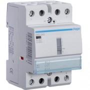 Hager, Moduláris kontaktor 40A, kézi kapcsolással, 2 Záró érintkező, 24V AC 50 Hz (Hager ERD240)