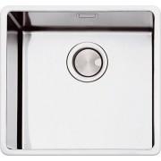 apell Fem50ubc Lavello Cucina 1 Vasca Sottotop Larghezza 54 Cm Materiale Acciaio Inox Finitura Spazzolato - Fem50ubc Ferrara Plus