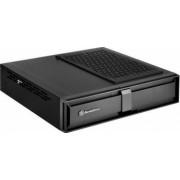 Carcasa pc Silverstone Silent SST/ML08B Milo Slim HTPC Mini ITX negru