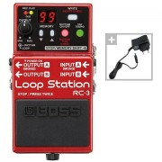 Boss RC-3 Power Bundle Effectpedaal Gitaar