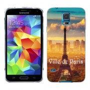 Husa Samsung Galaxy S5 Mini G800F Silicon Gel Tpu Model Paris