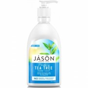 Sapun lichid anti-bacterian, cu Tea Tree, pentru fata si maini, 473ml. Jason