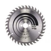 Disc fierastrau circular Bosch Professional Optiline Wood Ø160x2,6x20 mm 36 dinti