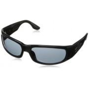 Black Flys Wrap Sunglasses,Shiny Black,60 mm