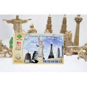 Asian Hobby Crafts 3D Wooden Puzzle - Statue of Liberty
