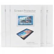 Protector de pantalla de cristal PET de proteccion para iPad / 2/3/4 / El nuevo iPad - Transparente (5 PCS)