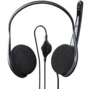 Слушалки с микрофон, 3.5 мм жак, Черни, HAMA-53979/42499