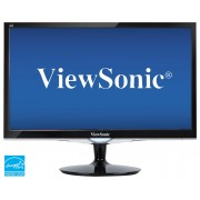 "ViewSonic - 21.5"" LED HD Monitor (DVI, HDMI, VGA) - Black"