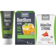 AdipoSlim STRONG + BootBurn Active XXL + Booty Gel