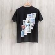 smartphoto T-Shirt Grau Rückseite L
