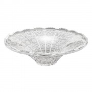 Fruteira Bowl de Cristal Starry Rojemac 25x8cm Ref-25615