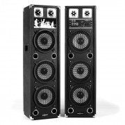OneConcept BSX-238A Altavoces PA USB microSD AUX MIC 100W RMS negro (GAV5-BSX-238A)