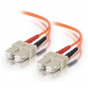 C2G SC-SC 62.5/125 OM1 Duplex Multimode PVC