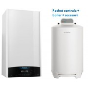 Pachet Ariston Genus One System 24 si boiler BCH 160