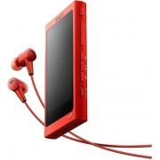 MP3/MP4 Player Sony Walkman NW A35HN, Ecran tactil, Bluetooth, NFC, Wireless, LDAC, 16GB, Casti (Rosu)