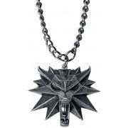 The Witcher Wild Hunt Medaillon Halskette-silberfarben - Offizieller & Lizenzierter Fanartikel Onesize Unisex