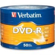 DVD-R Verbatim Matt Silver 120min./4,7Gb 16X - 50 бр. в целофан