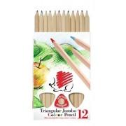 Ceruza színes ICO 12-es vastag