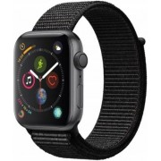 Apple Watch Series 4 Gps, 44mm Gwiezdna Szarość Z Opaską W Kolorze Czarnym