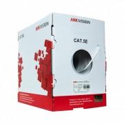 Rola cablu de retea UTP cat 5e material cupru integral 305m, Hikvision DS-1LN5E-S