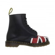 Dr Martens 10950 Union Jack Black Smooth Size 8
