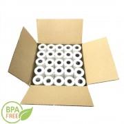 Set 90 Role Termice pentru Casa de Marcat 80mm x 30m - Hartie Termica pentru Aparate Fiscale si Case de Marcat, Role Termice fara Bisfenol A (BPA)