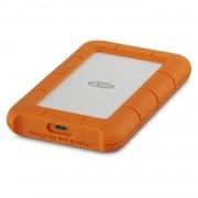 Lacie Rugged USB-C 4TB - удароустойчив външен хард диск с USB-C (сребрист-оранжев)