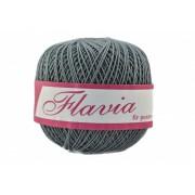 Fir de tricotat sau crosetat - Fire Bumbac 100% FLAVIA ROMANOFIR BOBINA GRI 1284