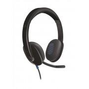 Logitech HEADSET H540 AUDIO DE ALTO RENDIMIENTO CON SUPRESION DE RUIDOS COLOR NEGRO P/N:981-000480