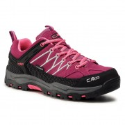 Туристически CMP - Kids Rigel Low Trekking Shoes Wp 3Q13244J Berry/Pink Fluo 05HF