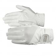 Horze handskar i PU-läder med bling, barn