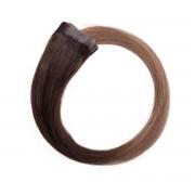 Rapunzel® Extensions Naturali Quick & Easy Premium Liscio O2.2/7.3 Brown Ash Ombre 40 cm