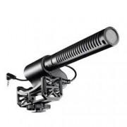 Walimex 18768 Digital camcorder microphone Cablato Nero microfono