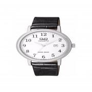 Reloj Clásico De Cuero Q&Q BL62J304Y-Gris