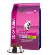 Eukanuba Adult Small Breed Weight Control Dry Dog Food With Chicken 3kg