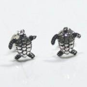Brinco prata 950 tartaruga