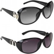BEING ADAM Over-sized Sunglasses(Multicolor)